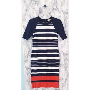 Michael Kors Helsinki Striped Knit Dress